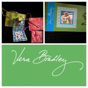 NEW Vera Bradley Luggage tag AND mirror 2 sets